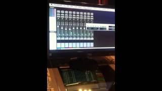 Scratch drum session SSL 9000