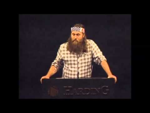 Duck Dynasty's Willie Robertson Speaks About His Faith at Harding University - November 28, 2012