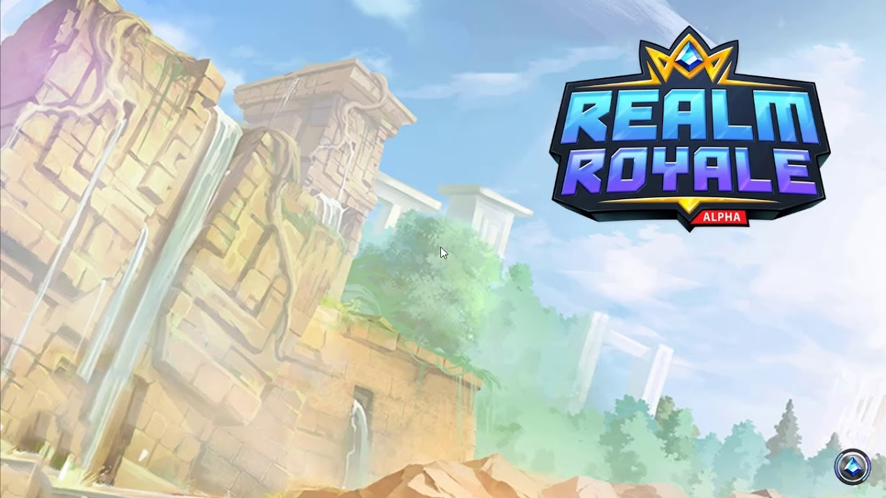Играем в Realm Royale как Paladins только Battle Royale|Первый раз|Если только Смотреть Всякую Хрень