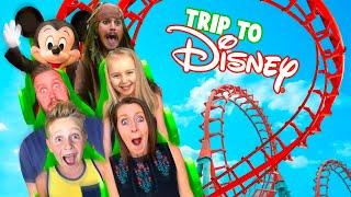 Disneyland Scavenger Hunt & ROLLER COASTER Super VLOG! KIDCITY