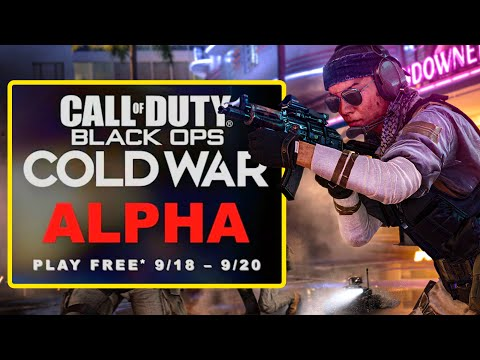 How to Get Access to the Free to Play Black Ops Cold War Alpha   Call of Duty BOCW News