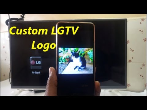 Custom Logo For Your LG TV, How To