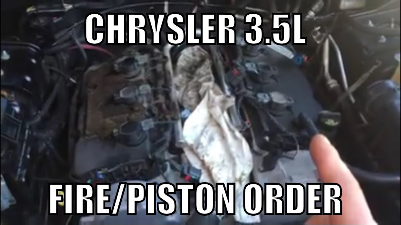 Chrysler 3 5 Firing Cylinder Order Youtube