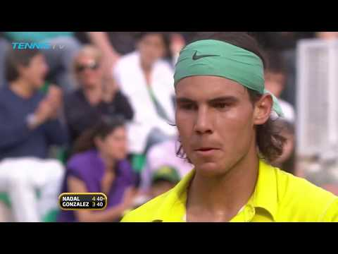 Rafael Nadal: best forehand shots over the years