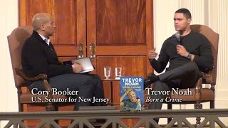 "Trevor Noah, ""Born a Crime"" (with Cory Booker)"