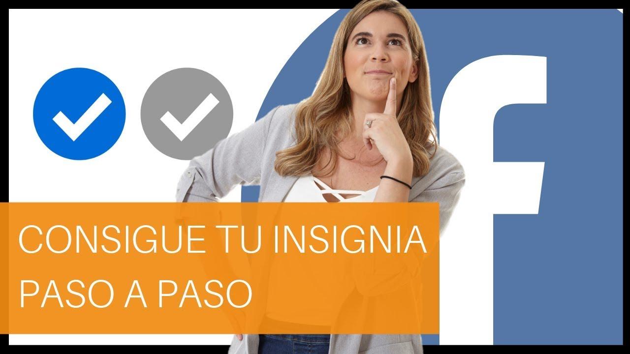 Insignia Azul Y Insignia Gris En Facebook Verifica Tu Página Paso A Paso Youtube