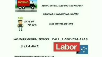 Hire a Mover In Louisville, Ky - Louisville Moving Services