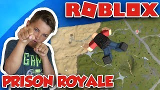 PRISON ROYALE in ROBLOX | PLAYER BATTLEGROUNDS SURVIVAL | PUBG IN ROBLOX | BE THE LAST STANDING