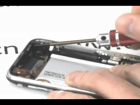 Video hướng dẫn tháo và lắp Iphone 3G .flv
