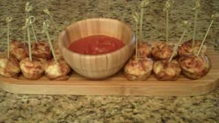 Pepperoni Pizza Puffs - Lynn's Recipes