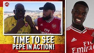 Time To See Pépé In Action!! | Barcelona v Arsenal Preview Ft DT