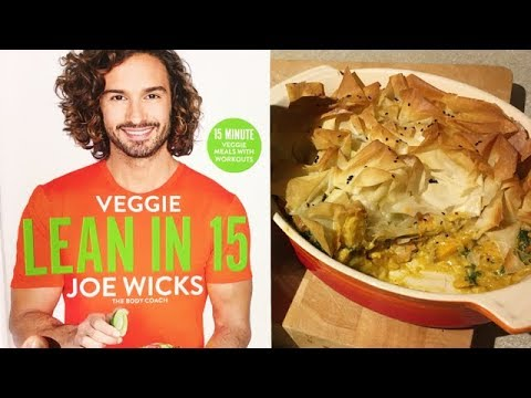 Making Joe Wicks Curried Root Vegtable Filo Pie Emily Askew Youtube