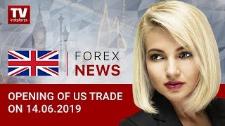 InstaForex tv news: 14.06.2019: USD not disturbed with weak retail sales (USD, Dow Jones, CAD)