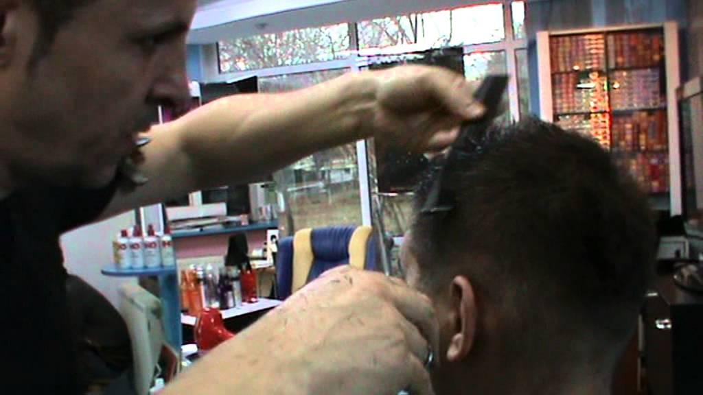 Salon Nice Forever Tehnica Tunsoare Barbati Youtube