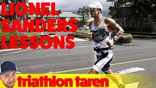 Lionel Sanders Ironman Training Lessons