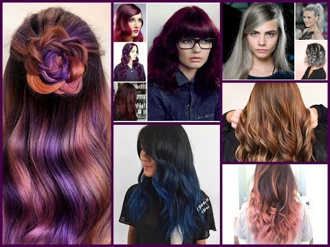 Amazing Hair Color Trends And Hair Color Ideas - YouTube