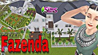 Construção Casa De Fazenda The Sims Freeplay
