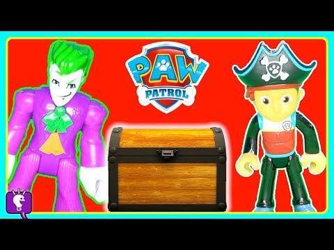 Paw Patrol Pirate Ship Treasure Hunt HobbyKidsTV