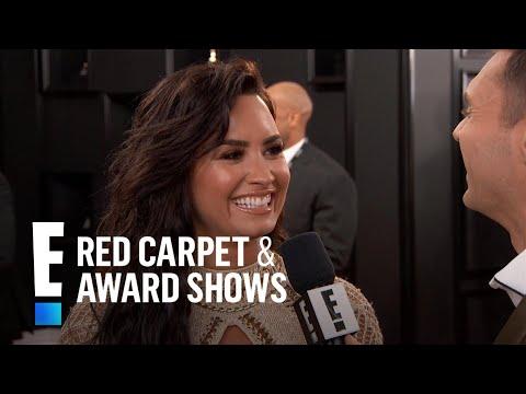 "Demi Lovato Spills on 1st Grammy Nomination for ""Confident"" | E! Red Carpet & Award Shows Mp3"