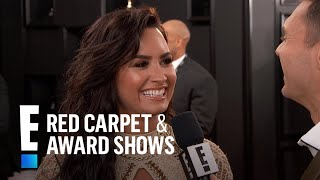 "Demi Lovato Spills on 1st Grammy Nomination for ""Confident"" 