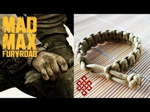 How To Make A Mad Max Paracord Cobra Stitch Bracelet
