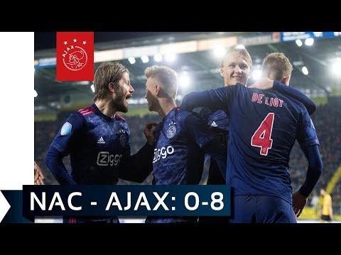 NAC - Ajax: de mooiste beelden van de 0-8