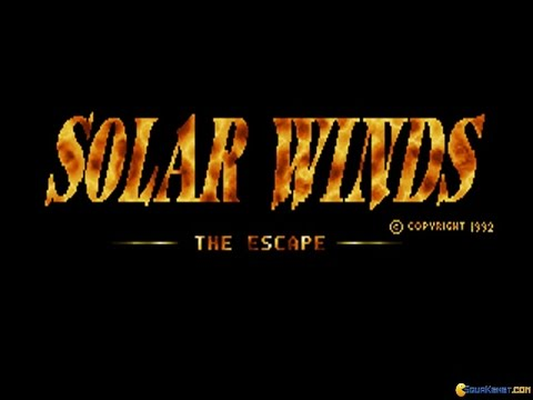 Solar Winds gameplay (PC Game, 1993)