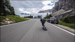 Raw Run in the Dolomites