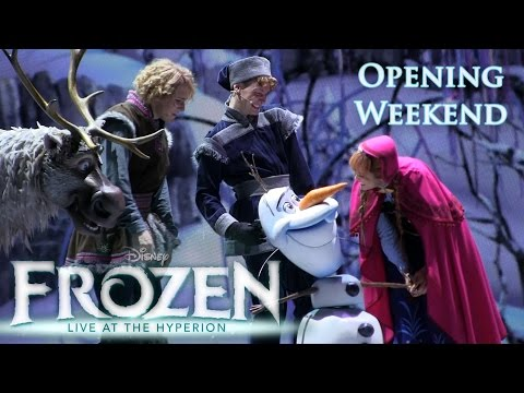 """""""Frozen: Live at the Hyperion"""" Close-Up [HD] Highlights (May 2016)"""