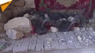 بالفيديو.. أنفاق داعش لم تمنع الجيش السوري من الوصول لمشارف الباب