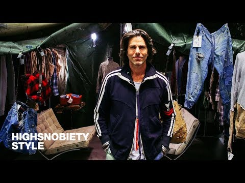 Greg Lauren on Telling a Story Through DIY at thedrop@barneys