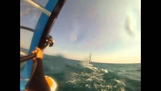 windsurf barcelona base nautica.wmv