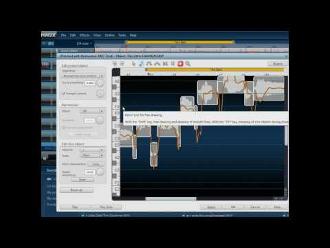 Elastic Audio Pitch Correction Magix Music Maker