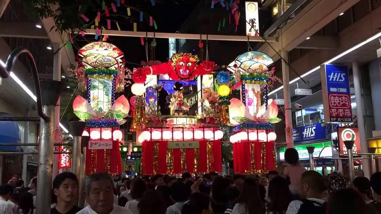 平塚七夕祭り - YouTube