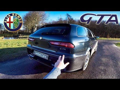 Alfa Romeo 156 GTA Review POV Test Drive by AutoTopNL