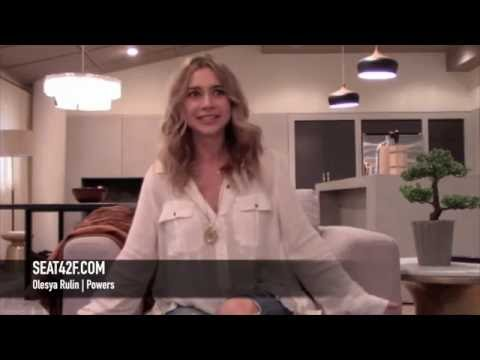 Olesya Rulin Powers Season 2 Set Visit