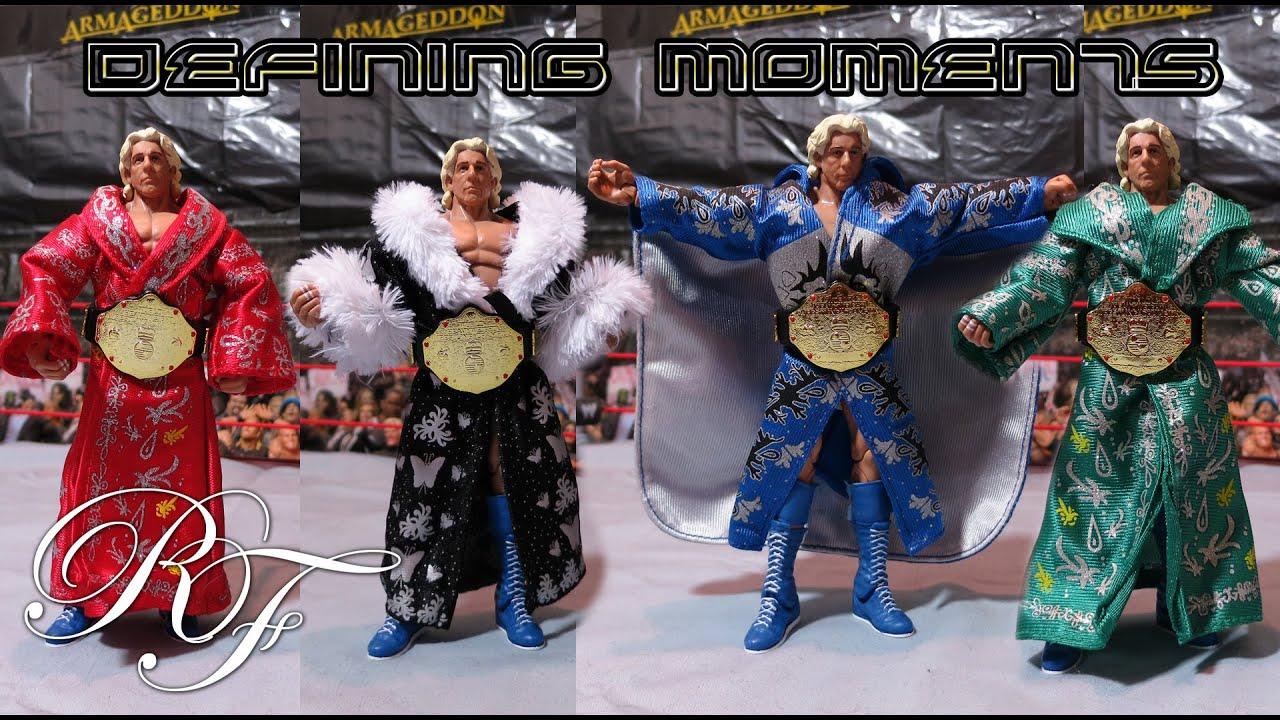 DM Ric Flair Unboxing + Flair Comparison + Jakks Robes on ...