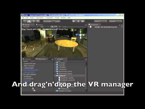 MiddleVR: a Virtual Reality plugin ! - Unity Forum