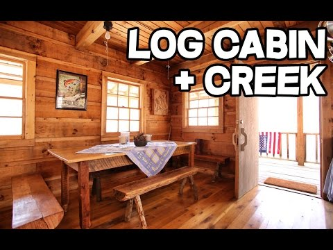Free For Life Inspiring Women Shows How To Build A Log Cabin By Hand