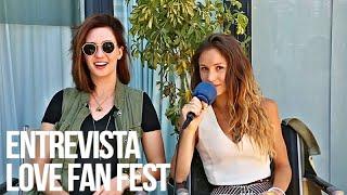 Entrevista com a Dominique PC e a Kat Barrell no Love Fan Fest - Legendado