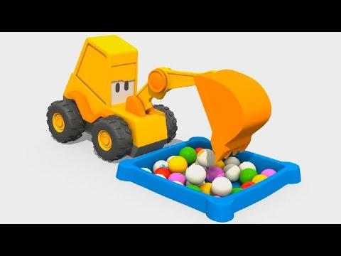 Мультик про Экскаватор Масю: Веселая Карусель - Одежда, развивающий мультфильм для малышей