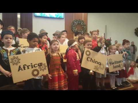 Beacon Hill Christian Academy Kindergarten Christmas Program 2016