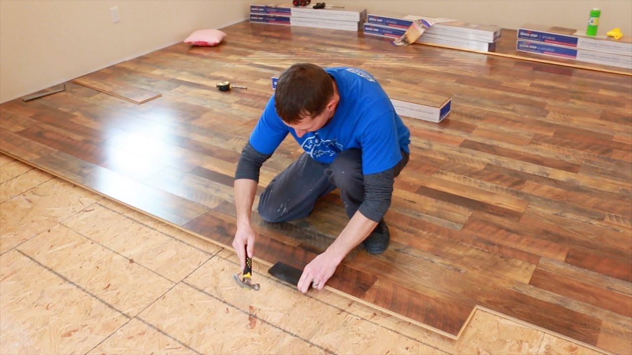 Oak Laminate Flooring, How To Lay Laminate Flooring Quick Step