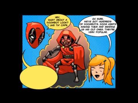 Chibi Deadpool and Rorschach (Marvel / DC Comedy Comic Dub) [Reupload]