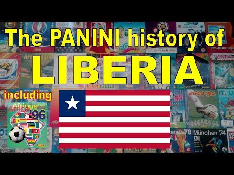 The Panini history of Liberia (Men's Soccer Team)