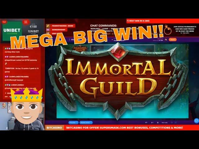 Immortal Guild goes NUTS!! HUGE Hit!!
