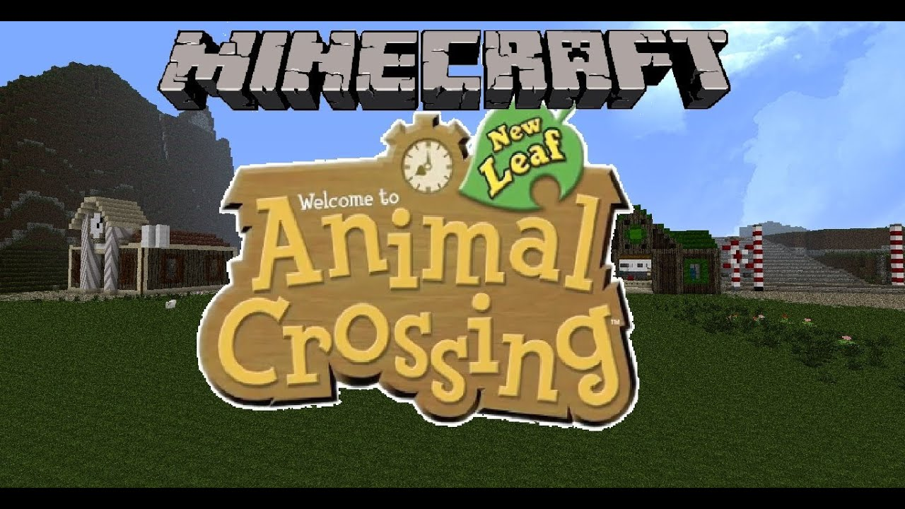 Minecraft animal crossing new leaf youtube for Animal crossing new leaf arredamento
