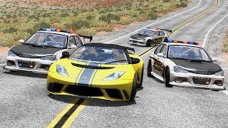 POLICE CHASES #8 - BeamNG.Drive •Notsofancygames