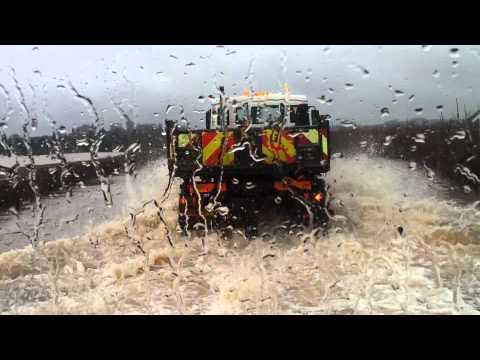 kelham road flooded at  newark notts