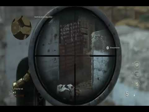Call of Duty WW2: Pointe Du Hoc .. Trying to wreck them